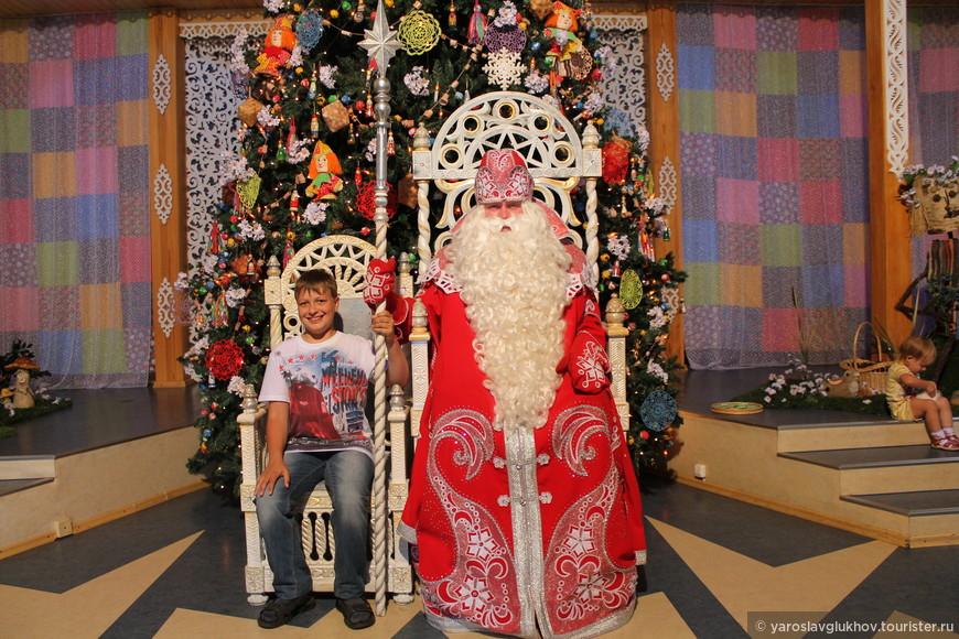 Я и Дед Мороз.