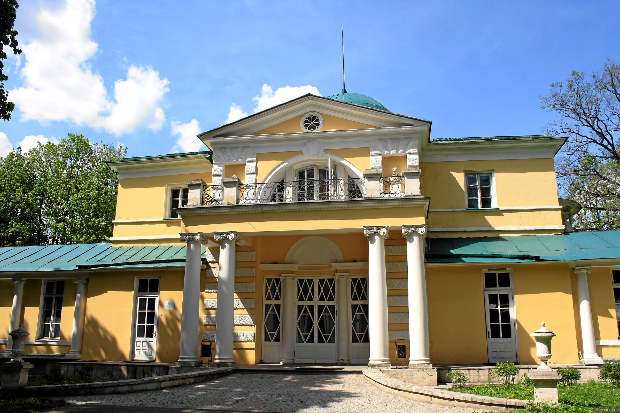 Картинка барского дома