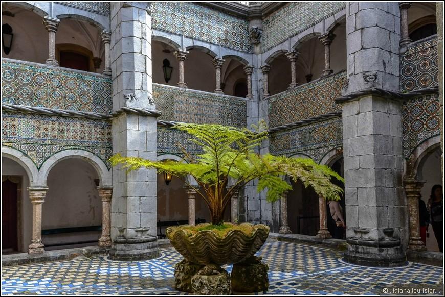 Внутренний дворик Дворца