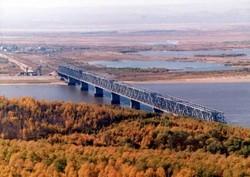 Россию и Китай соединит первый железнодорожный мост