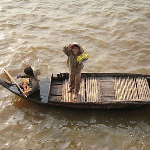Жизнь на озере Тонлесап