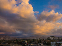 Каппадокия. Ургюп на закате 2014