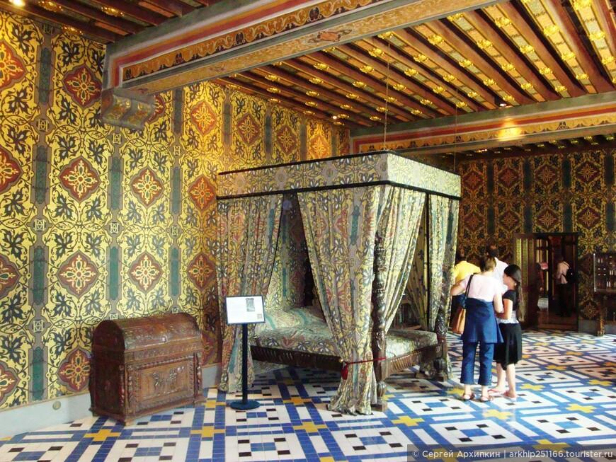Спальня королевы Екатерины Медичи