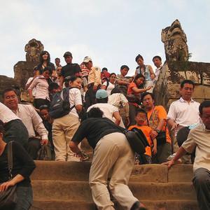 Закат на горе Пном Бакхенг