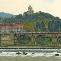Мост через реку По.