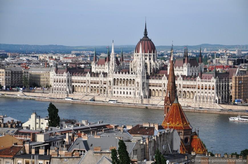 Здание парламента. Визитная карточка Будапешта.