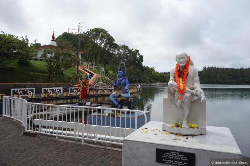Священное озеро индуистов на Маврикии. Место поклонения и паломничества.
