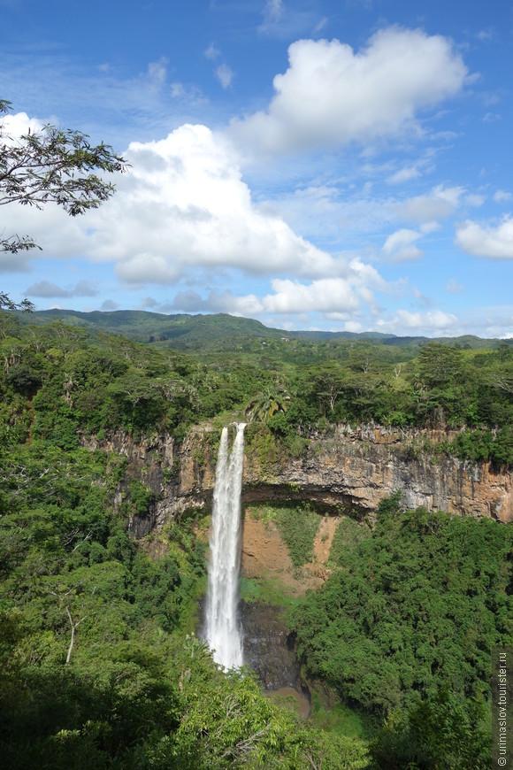 Самый большой на Маврикии водопад.