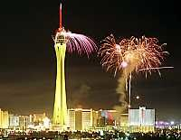 Шоу фейерверков «взорвет» Лас-Вегас в новогоднюю ночь