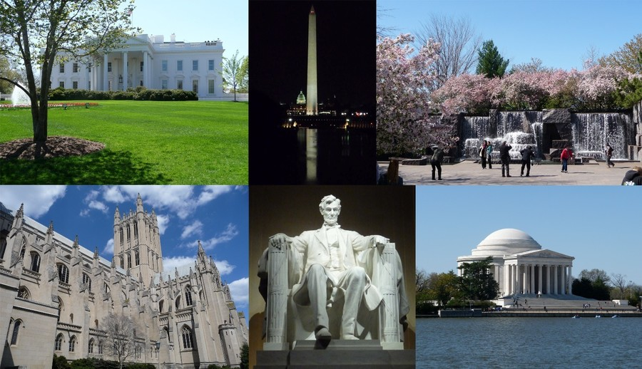washington dc the second most visited