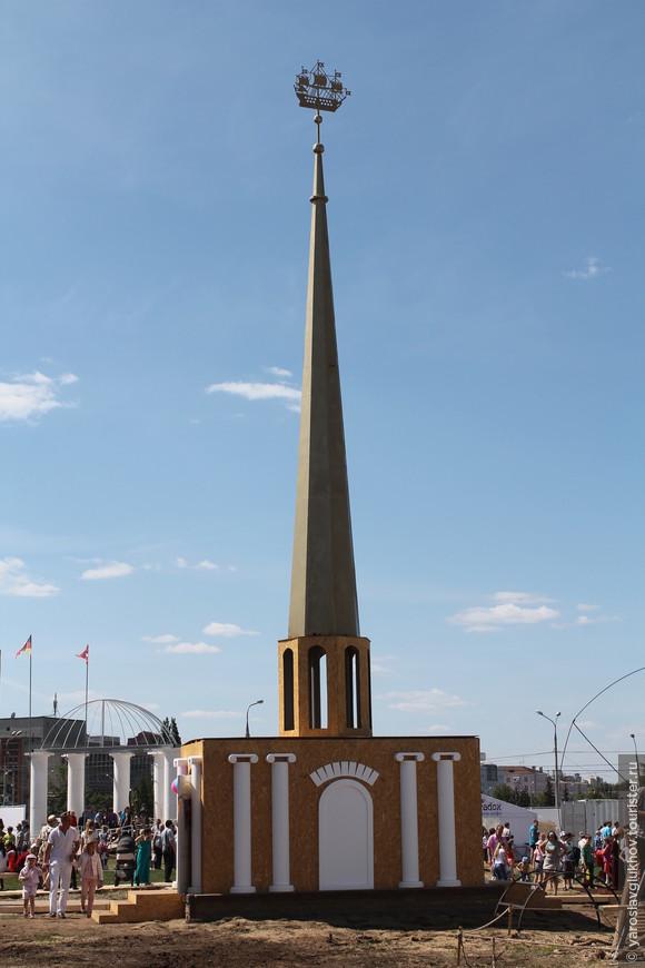 Шпиль Адмиралтейства.