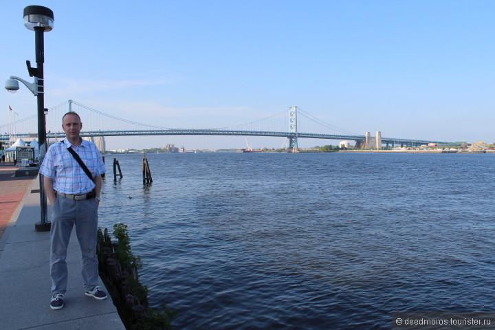мост в Нью-Джерси