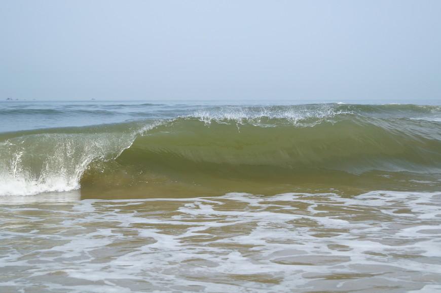 Но больше всего впечатлила красота и мощь океана...