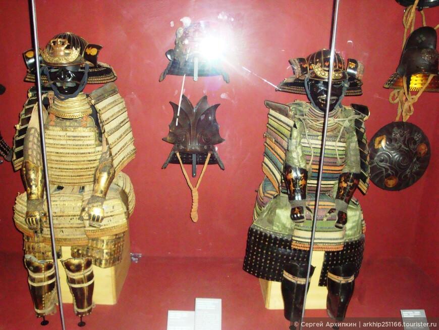 Латы японских самураев .16 век.