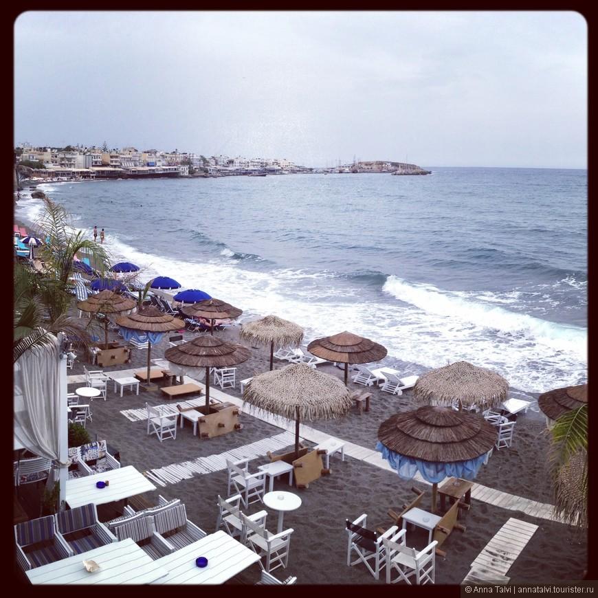 одно из наших любимых мест  днем и ночью Kahlua Beach Bar, Hersonissos