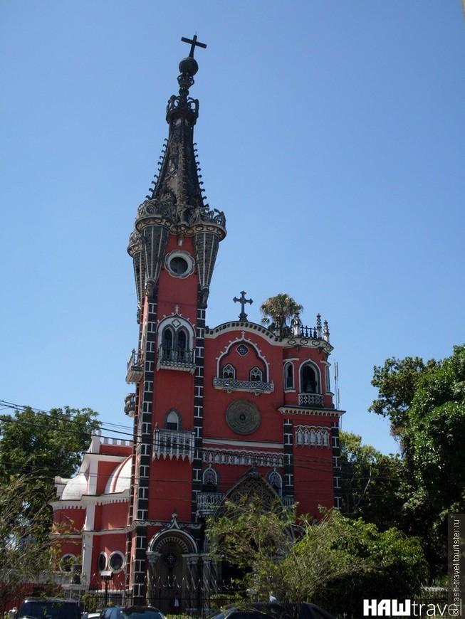 Нео-готическая церковь Юрита в Гватемала сити.
