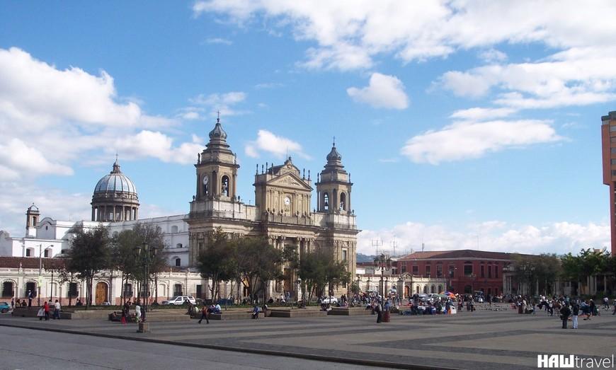 Центральная Площадь Гватемала сити
