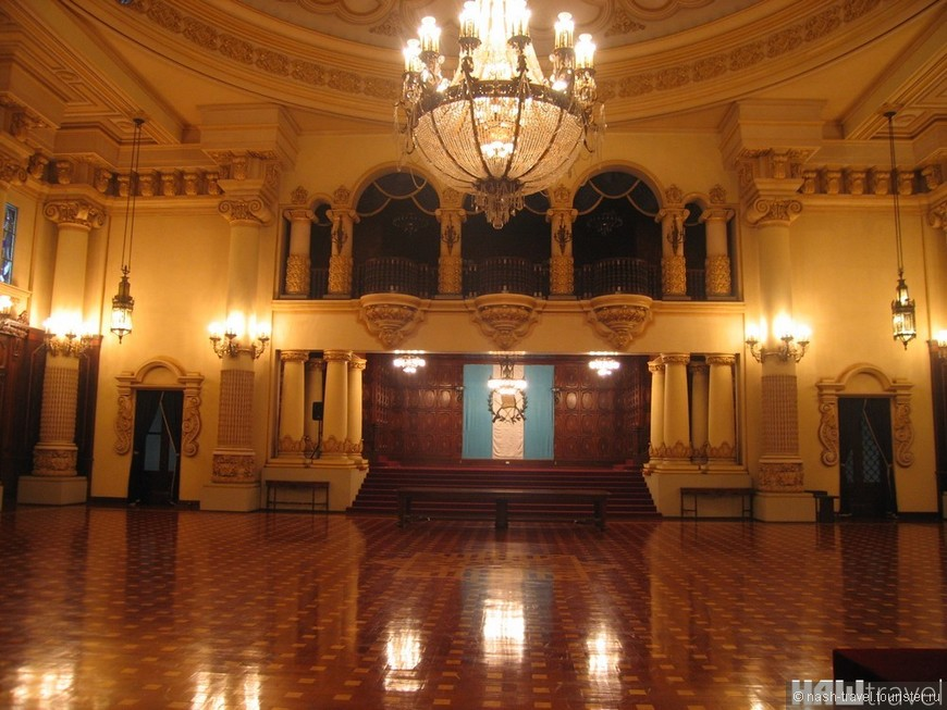 Конференц зал в Национальном Дворце