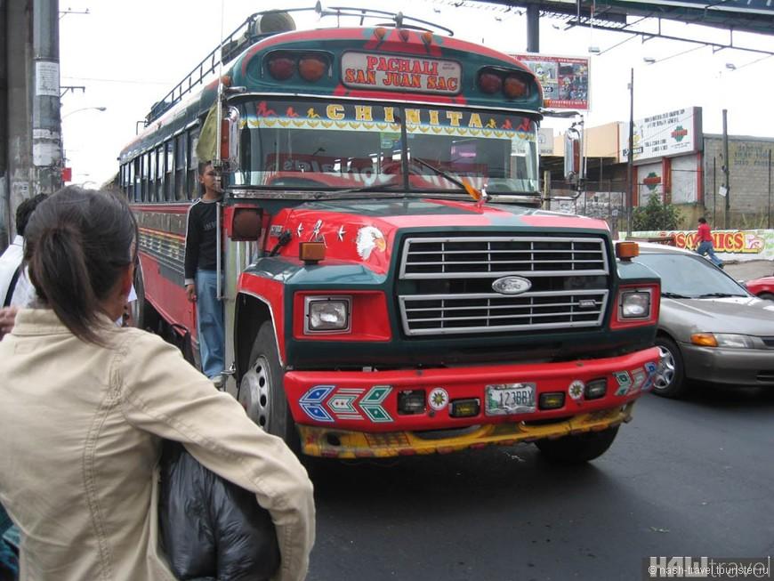 Местные автобусики- курятники