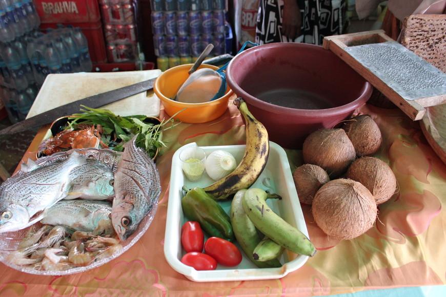 готовим тападо - типичный суп гарифуна