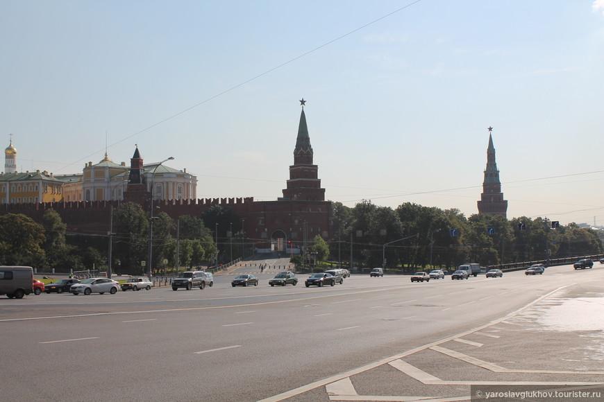 Башни Кремля.
