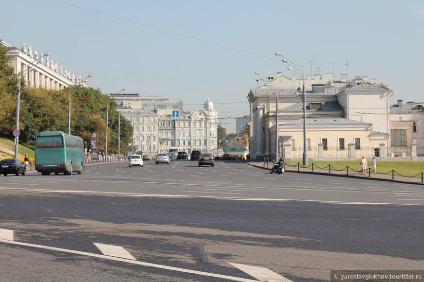 Улица Моховая.