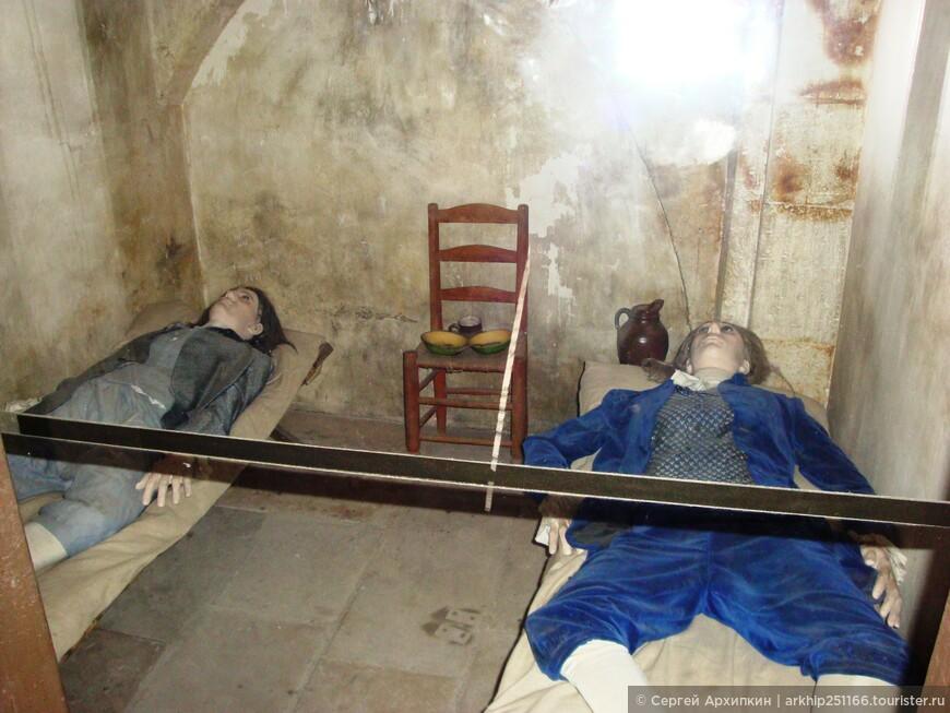 Консьержери стала тюрьмой, особенно в эпоху революций.