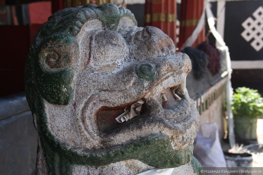 традиционный восточный лев