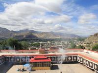 Монастырь Нечунг в Лхасе Тибет