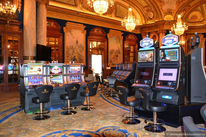 в игорном зале казино