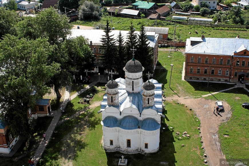 Ризоположенский собор. Вид с Преподобенской колокольни.