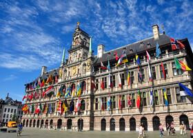 Антверпен — и порт, и история, и шоппинг