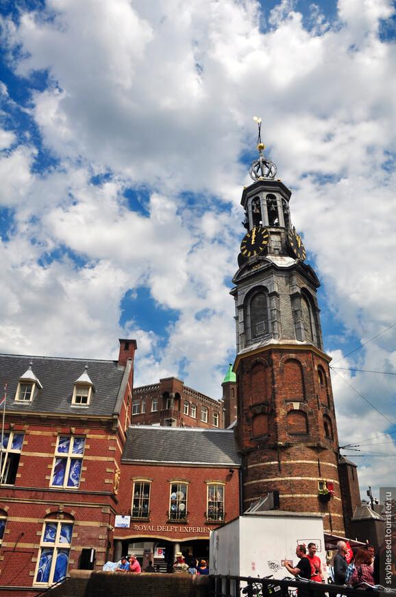 Эта башня была для меня ориентиром начала Цветочного рынка
