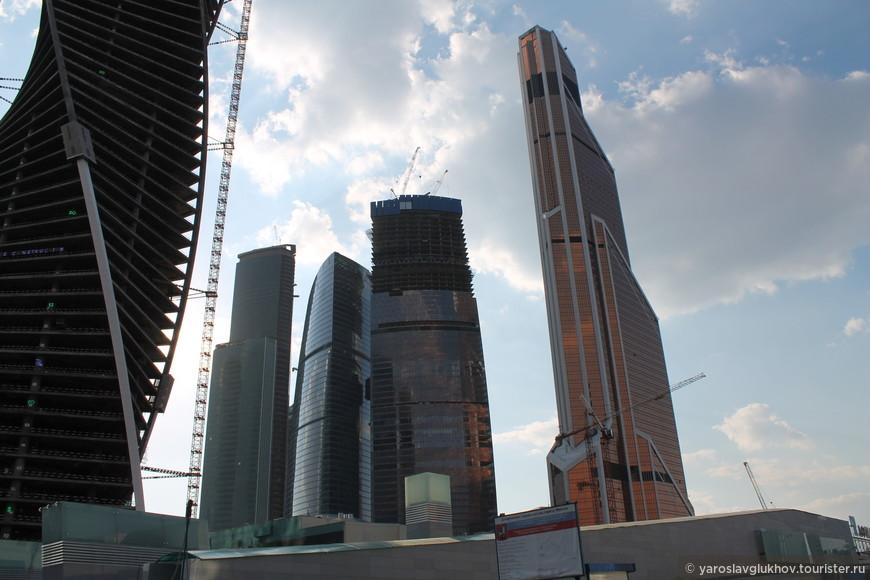 Башня Евразия, комплекс Федерация, Меркурий-Сити-Тауэр.