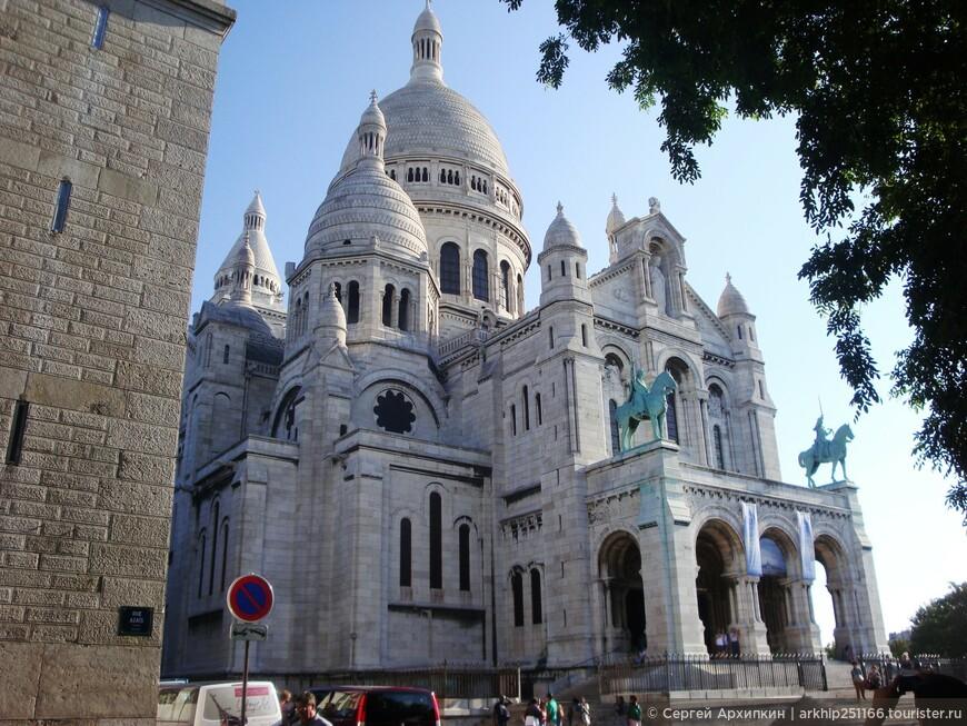 Безусловно - Сакре-Кер - самый красивый собор, по внешней отделки, хотя ему всего чуть более 100 лет
