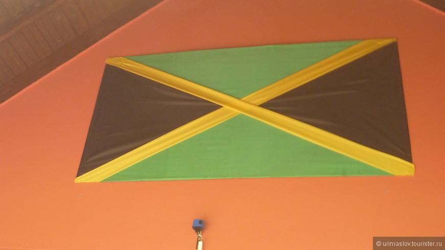 Флаг Ямайки.