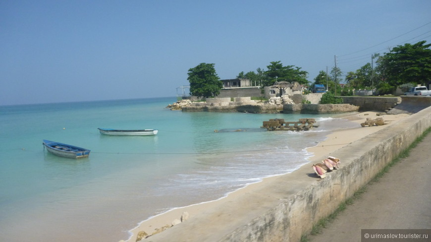 Какое же оно всё таки красивое, это Карибское море!