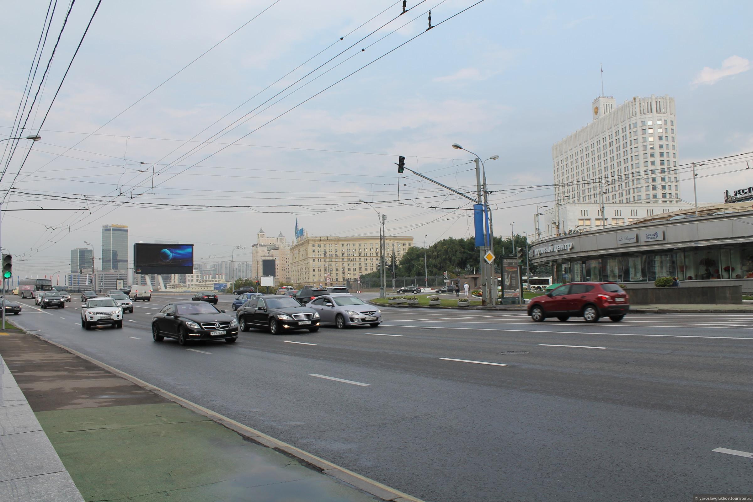 Площадь Свободной России., Смоленская Москва