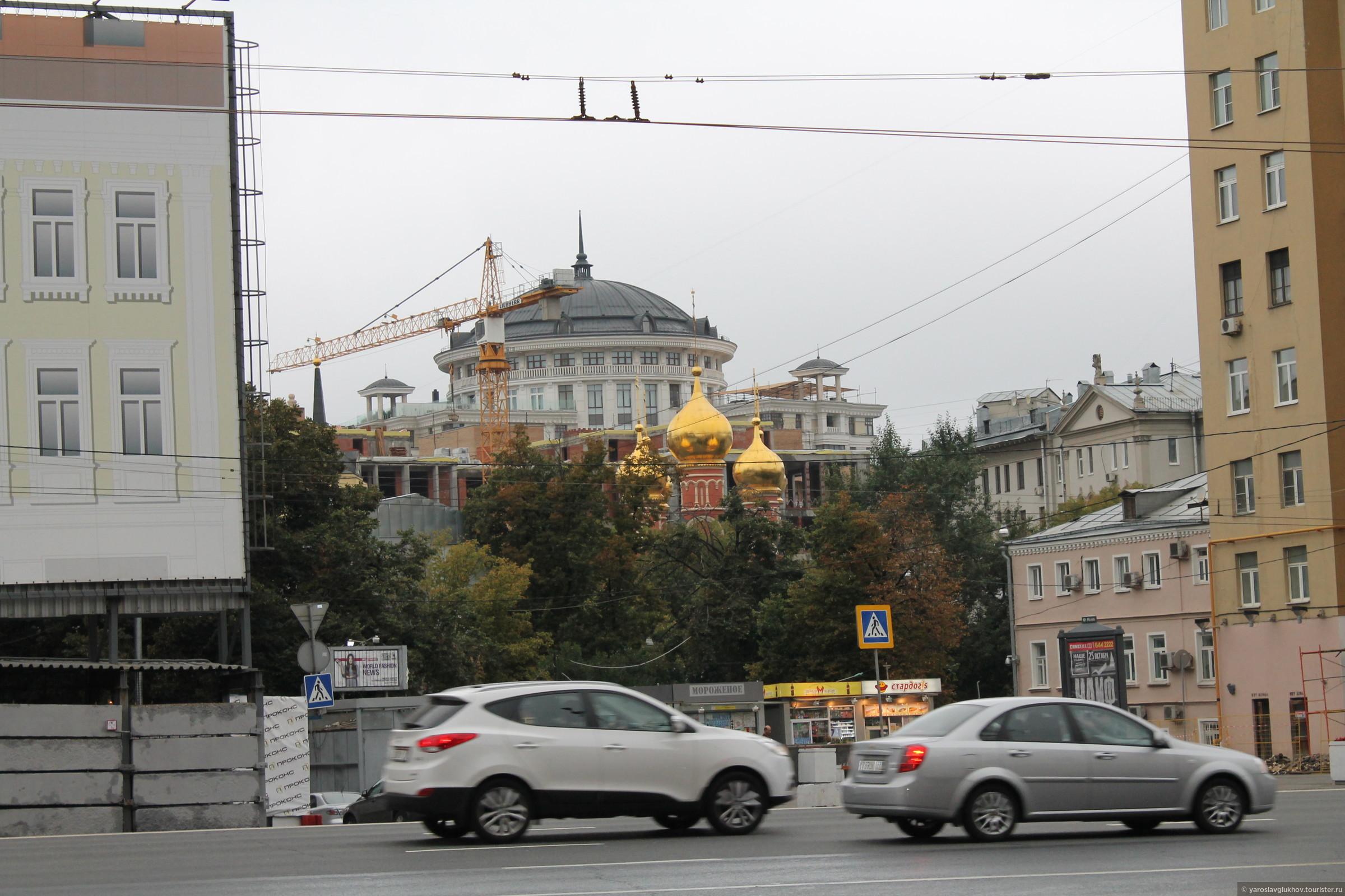 Храм Святителя Николая., Смоленская Москва