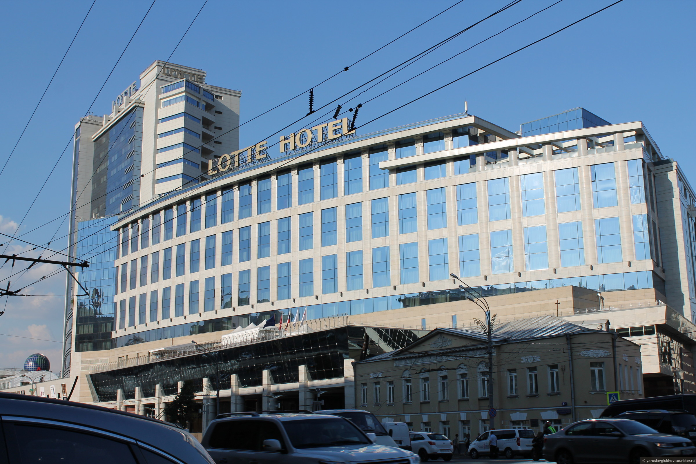 """LOTTE HOTEL""., Смоленская Москва"