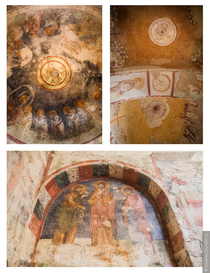 остатки фресок