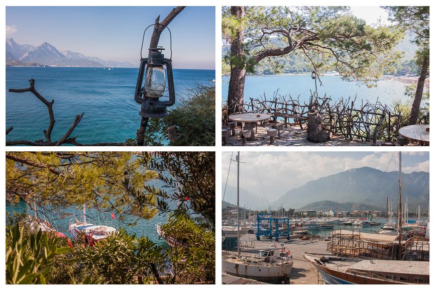 На полуостровке расположен маленький парк народных ремесел. Сам парк так себе, но оттуда открывается отличный вид на побережье и порт лодочками.