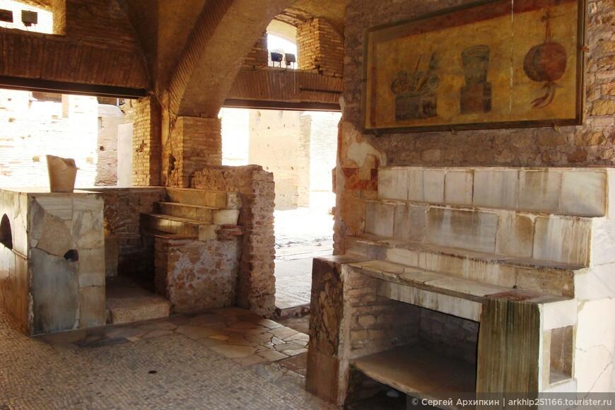Это по всей видимости древняя харчевня,где питались римляне