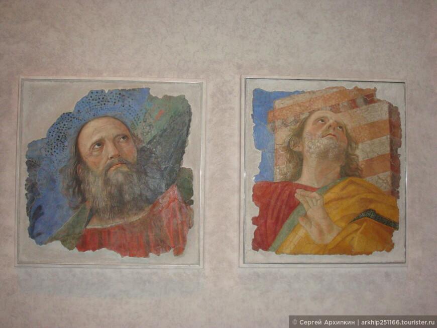 Прекрасные мозаики дохристианского периода- и кто сказал что впоследствии христиане не переняли лики святых!