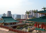 Гонконг. Монастырь Бамбукового Леса