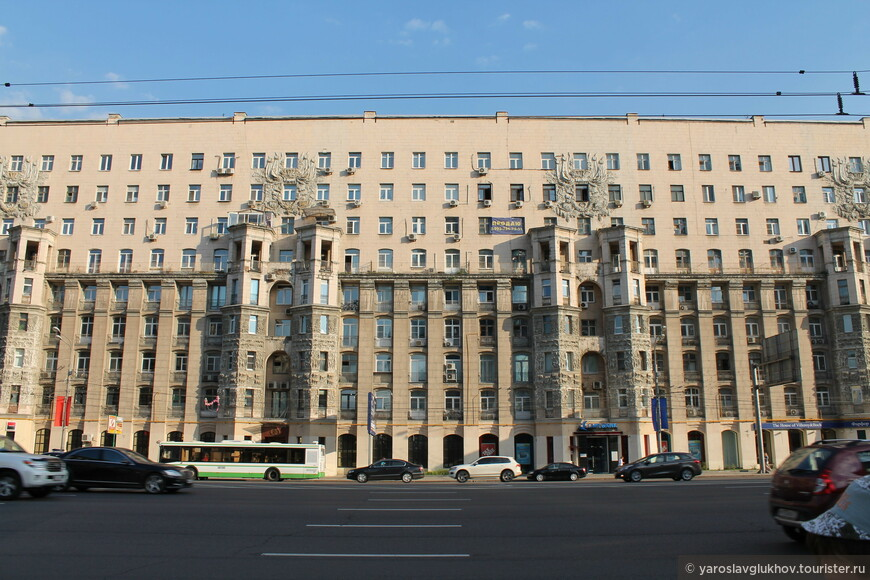 Типичная советская застройка Москвы.
