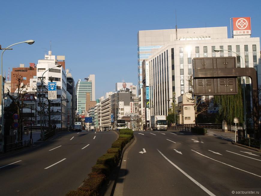 Токийские улицы.