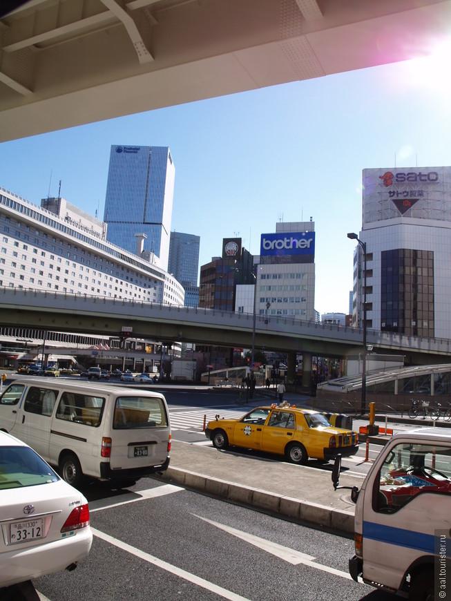 Токийские дороги.