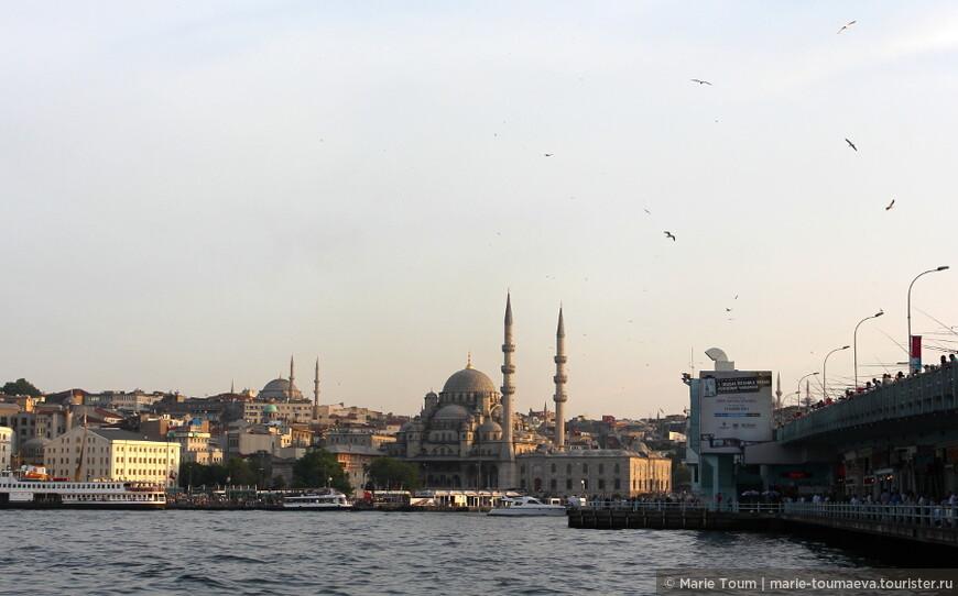 Вид на Новую мечеть