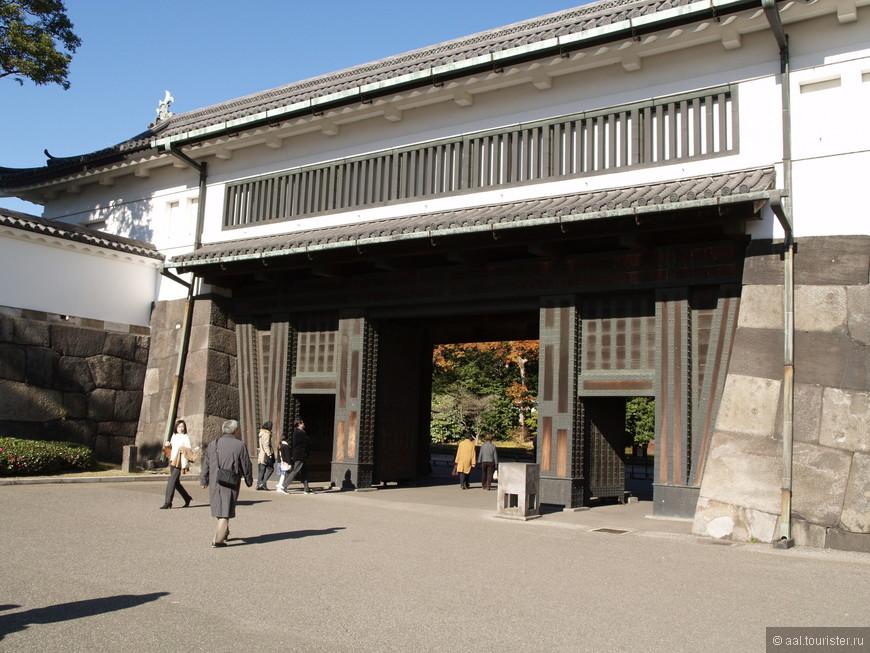 Вход в древнюю императорскую резиденцию.